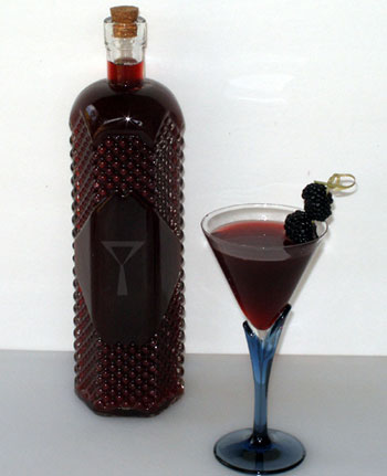 Good Cocktails - Homemade Blackberry Liqueur Recipe