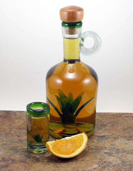 Good Cocktails - Homemade Tequila Based Orange Liqueur