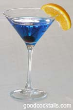 Blue Monday Cocktail Drink