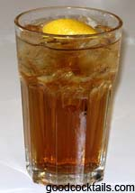 Cognac Highball Drink