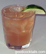 Apple Brandy Rickey Drink