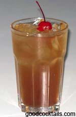 Apple Brandy Sour Drink
