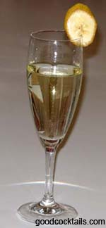 Caribbean Champagne Drink