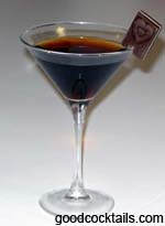 Chocolate Mint Martini Drink