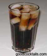 Cognac And Coke Drink
