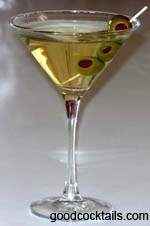 Dirty Martini Drink