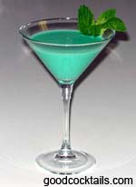 Flying Grasshopper Drink