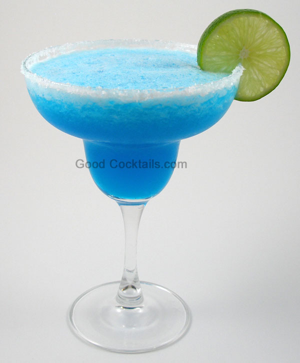Frozen Blue Margarita Drink