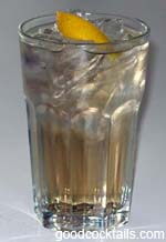 Bitters Highball Drink