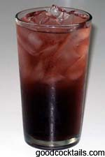 Good Cocktails Black Opal Mixed Drink Recipe