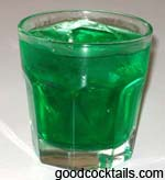Mint On The Rocks Drink