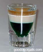 Irish Flag Drink