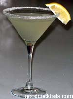 Lemon Drop Martini Drink