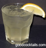 Limoncello And Tonic Drink