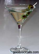Vodka Martini Drink