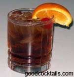 Bourbon Old-Fashioned Drink