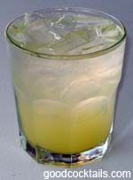 Pineapple Fizz Drink