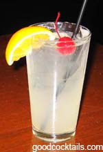 Whiskey Collins Drink
