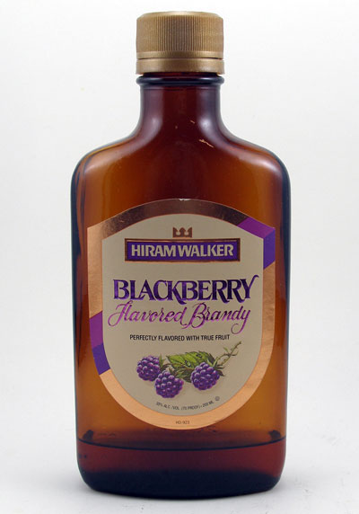 Mixed Drink With Blackberry Brandy